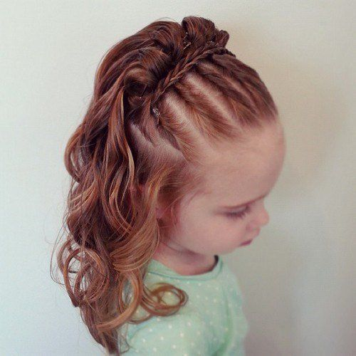 Cool Hairstyles For Girls curls with texture by abellasbraids track hairstylescute Best 25 Little Girl Hairstyles Ideas Only On Pinterest Little Girl Hair Girl Hair And Little Girl Braids