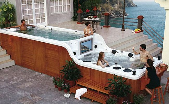 that would be cool... but really, i just want a hot tub, nothing fancy, just a hot tub :)
