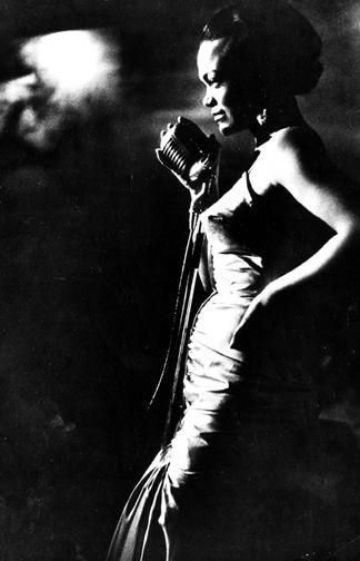 Eartha Kitt photographed by Gordon Parks