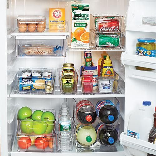 Kitchen Organization Where To Put Everything: REFRIGERATOR ORGANIZERS