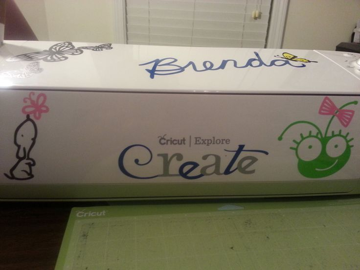 cricut decal machine