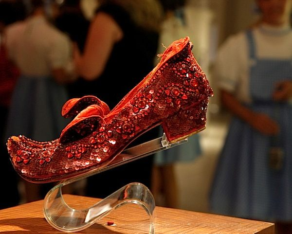7af750deceee Harry Winston s Ruby Slippers by Ronald Winston are made of 4