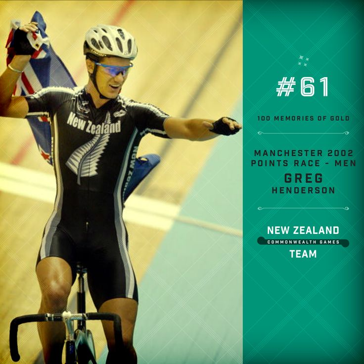 Golden Memory #61. Greg Henderson winning the men's point race at the 2002 Commonwealth Games held in Manchester. #makingusproud