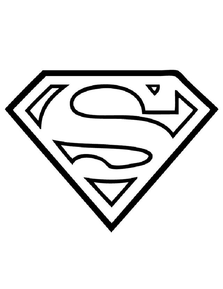 superhero alphabet coloring pages   Superman coloring ...