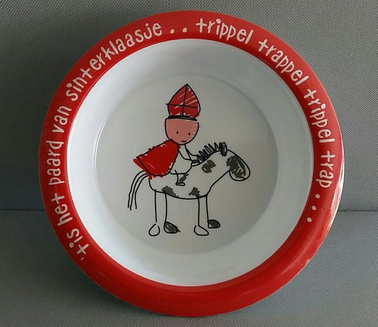 Sinterklaas ontbijtbord