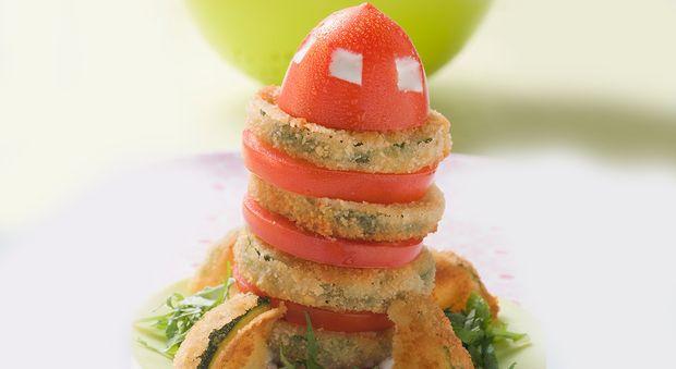 Fusée aux beignets de courgettes Ces fusées aux beignets de courgettes vont faire adorer les légumes à vos enfants!
