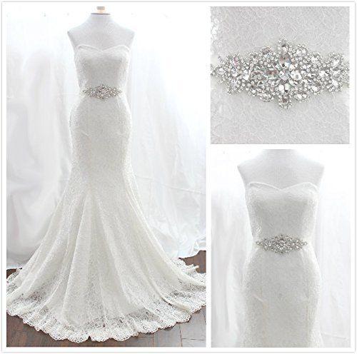 Trlyc Wedding Dress Belt Bridal Belt Sash Belt Pearls Belt Rhinestone Belt Crystal Belt Rhinestones And Pearls Sash Wedding Sash Dress Sash, http://www.amazon.com/dp/B017LY3YQ4/ref=cm_sw_r_pi_awdm_oUCPwb1KFZFK5