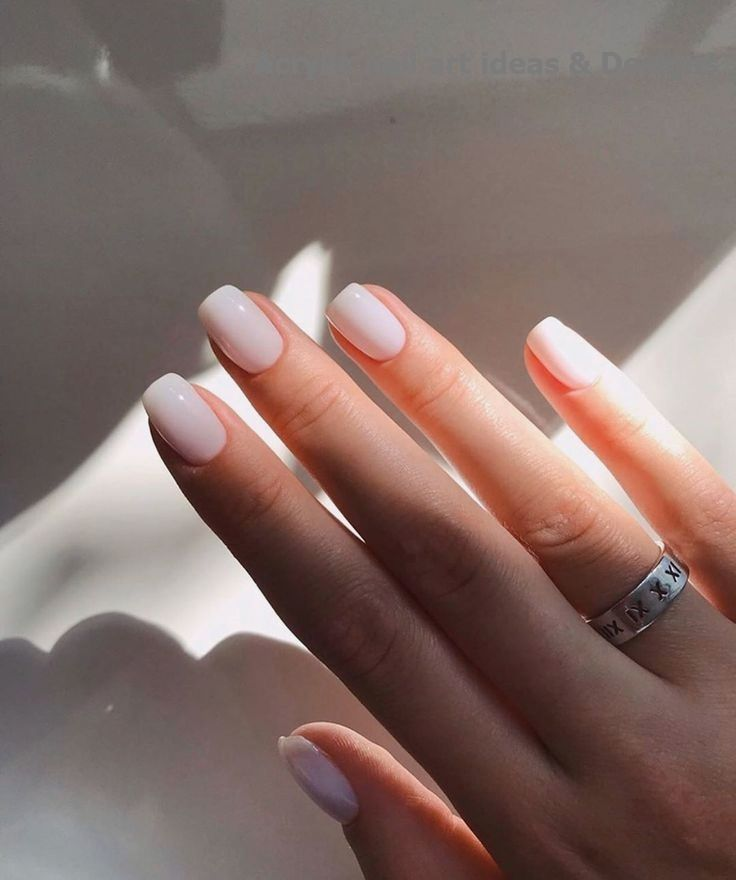 20 Great Ideas How To Make Acrylic Nails By Yourself 120 Great Ideas How To Make Acrylic Nails By Yo In 2020 Manicure Short Acrylic Nails Minimalist Nails