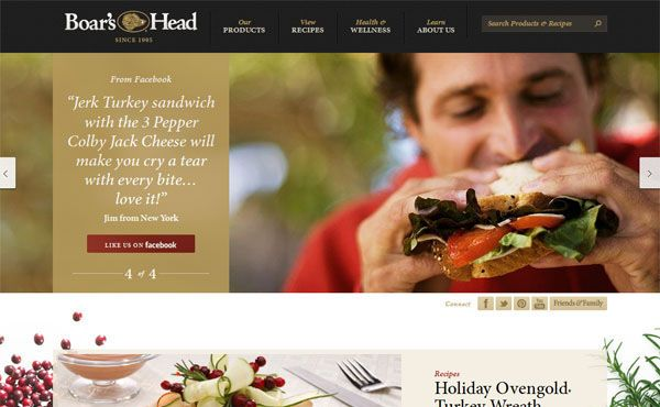 Restaurant Web Designs  40 Yummy Cafe & Restaurant Websites and Trends