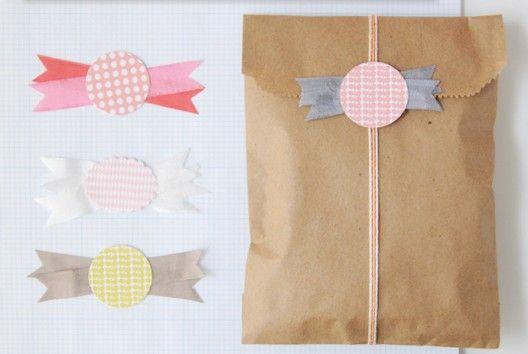 faire de jolis paquets cadeau #tuto #french