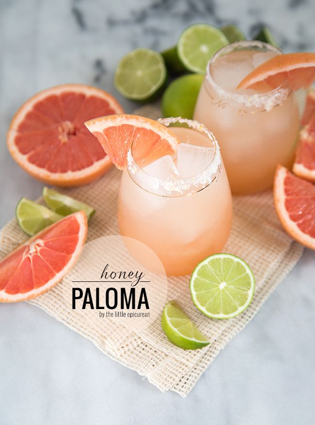 Honey Paloma Cocktail