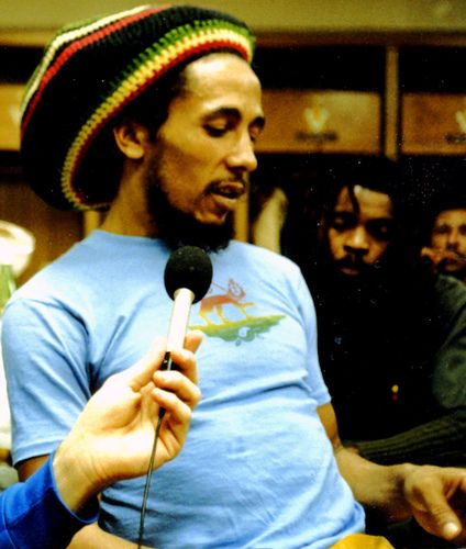Bob Marley, 1979... I went to his Brisbane concert at Festival Hall not long before his untimely death.