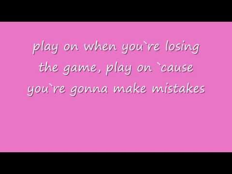 Play On Lyrics - Carrie Underwood   Very suiting for me right now