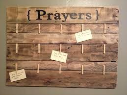 Mural e pedidos de oração.