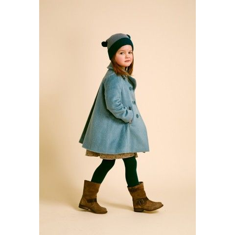 Swing coat by i love gorgeous in this beautiful slate blue colour ...