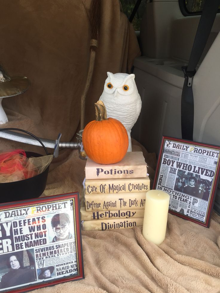 Harry Potter Trunk Or Treat Ideas