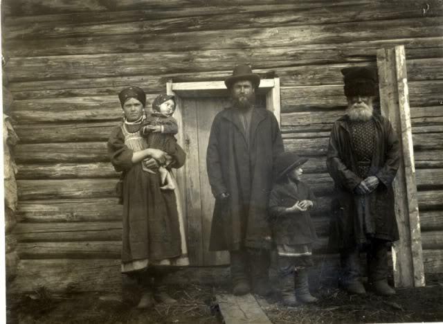 Старообрядцы с. Быково Бухтарминского уезда (бухтарминские каменщики)