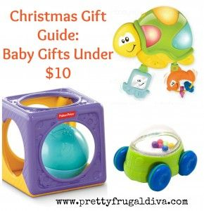 Christmas Gift Guide 2013: Baby Gifts under $10.00