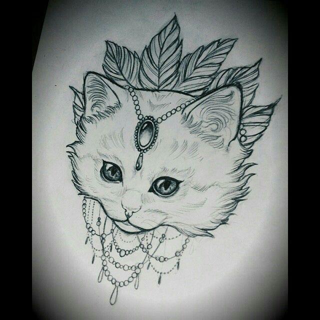 #jewellery #jewel #whitecat #tattoo