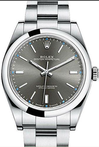 Mens Steel Rolex Oyster Perpetual 39mm Rhodium Dial, Oyster Bracelet https://www.carrywatches.com/product/mens-steel-rolex-oyster-perpetual-39mm-rhodium-dial-oyster-bracelet/ Mens Steel Rolex Oyster Perpetual 39mm Rhodium Dial, Oyster Bracelet  #perpetualcalendar #rolexwatchesformen Check also our amazing Rolex men's collection https://www.carrywatches.com/shop/wrist-watches-men/rolex-watches-for-men/