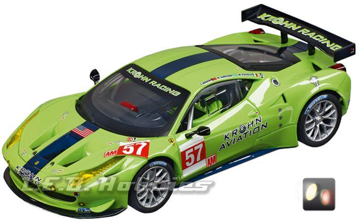 Carrera 30678 Digital 132 Ferrari 458 Italia GT2 , Krohn Racing, No. 57 #slotcar #carrera