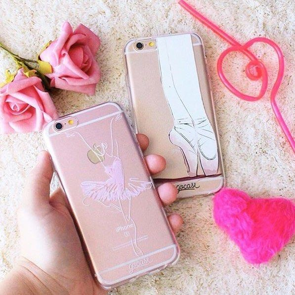 Tag your ballerina friend Find more cases on our website goca.se/buy #iphone #samsung #phonecase. Phone case by Gocase www.shop-gocase.com