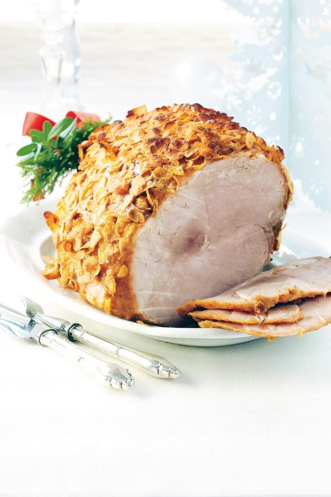 Joulukinkku ja mausteinen sinappikuorrutus   K-ruoka #joulu