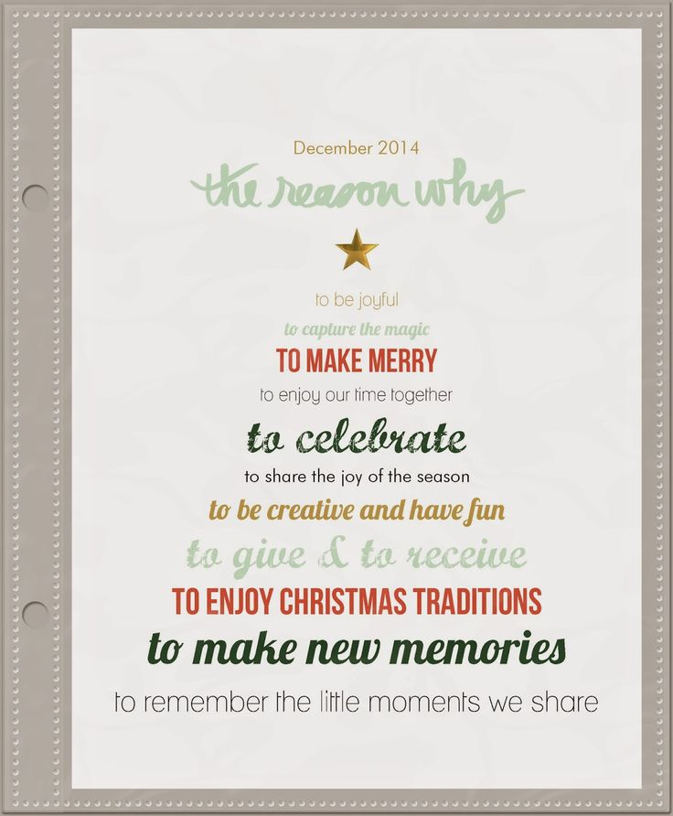 December Daily Album 2014 gorgeous pages by @jenhignite