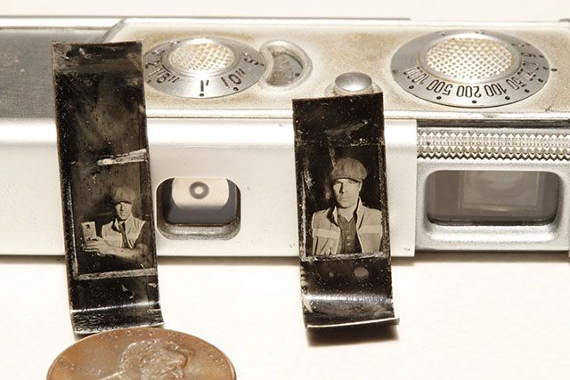 Shooting the Worlds Smallest Tintypes with a Minox Subminiature Camera