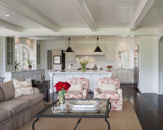 Small open plan kitchen living room design pictures - Open kitchen designs with living room ...