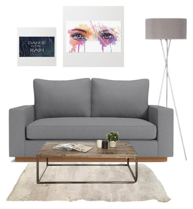 """""""Loft and rugs on the wall"""" by han-nastya on Polyvore featuring interior, interiors, interior design, дом, home decor и interior decorating"""