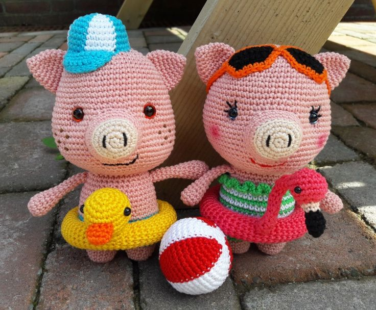 Piglet Amigurumi Free Pattern : 63 best ami along images on pinterest amigurumi amigurumi