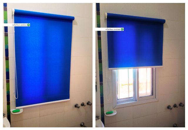 Cortina Roller Matiz en tono azul. Dale vida a tus ambientes con las mejores cortinas. https://www.facebook.com/rollerhauscortinas Asesoramiento y presupuestos en rollerhauscortinas@outlook.com