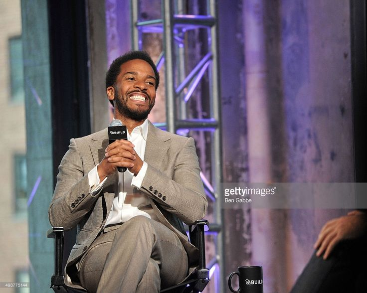 Actor Andre Holland attends AOL BUILD presents 'The Knick' at AOL ...