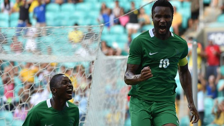 Eagles never demanded for payment in dollars says Mikel John Obi Mikel (R) of Nigeria celebrates his goal scored against Denmark during the Rio 2016 Olympic Games mens quarter-final football match Nigeria vs Denmark at the Arena Fonte Nova Stadium in Salvador Brazil on August 13 2016 NELSON ALMEIDA / AFP Japanese surgeons cash for Rio Olympics team ready Super Eagles Captain John Obi Mikel has denied that he told the Nigeria Football Federation (NFF) leadership that senior national tea...