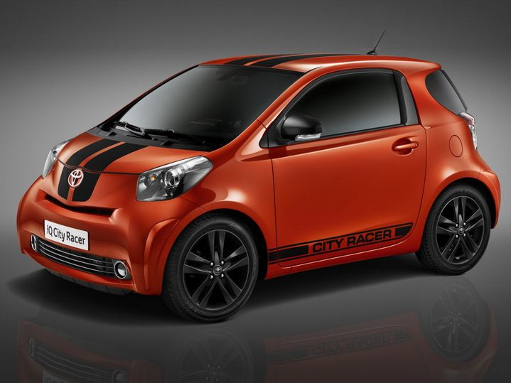 toyota iq city racer citycar pinterest toyota and cities. Black Bedroom Furniture Sets. Home Design Ideas