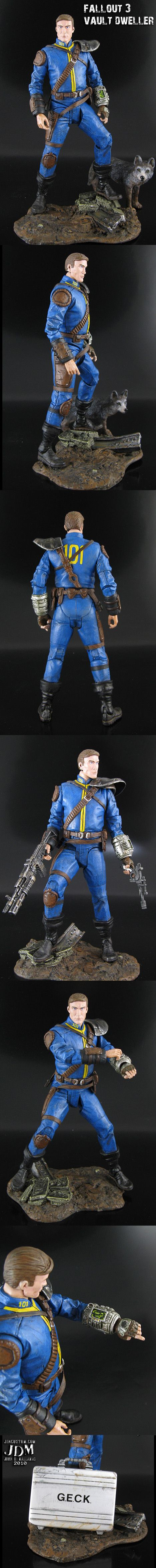 Fallout 3 Lone Wanderer Action Figure?...SHUT UP AND TAKE MY BOTTLECAPS...
