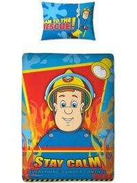 Brandweer man Sam Junior Dekbedovertrek, €29,95.