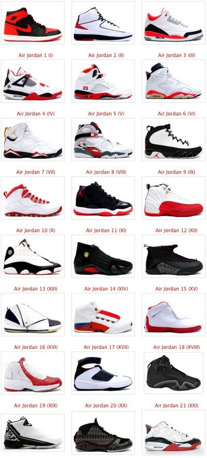 Just a peak of the time of Jordan's from old to new
