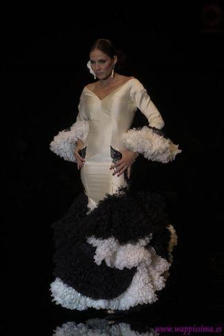 Traje de Flamenca - Juana-Martin - Simof-2012
