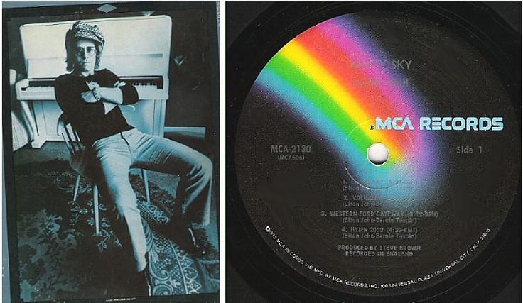 Elton John / Empty Sky...
