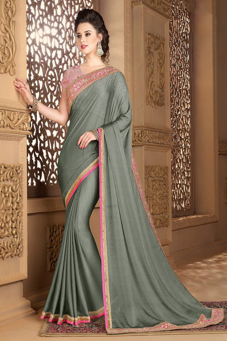 #lalgulal.com Visit-http://www.lalgulal.com/sarees/style-saga-sterling-grey--colour-chiffon-saree-with-net-blouse-1814  #FreeShipping & #CashOnDelivery In India Contact:- #WhatsApp +9195121 50402 #sarees #Purple #Womenfashion #Womenstyle #Indianwear #partywearsaree #Onlineshopping #india #USA #UK #DUBAI #Canada #mauritius #malesia #australia #UAE #Fiji