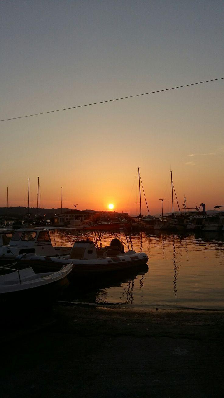 Croatia sunset...