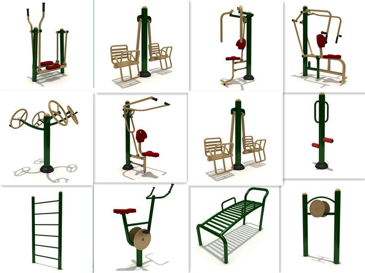 China manufacturer machine exercise outdoor gym equipment amusement rider