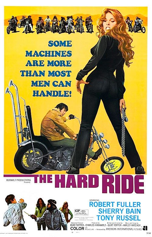 1971  -  Best biker flick to come out of the era of the drive-in.                                                                                                                                                                                 More