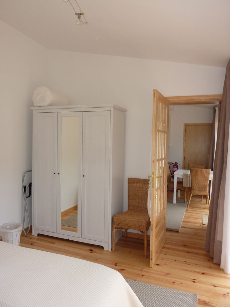 Casa do Valle's superior suite. Door leading from the master bedroom to the livingroom and kitchenette area. #bedandbreakfast #Sintra #Portugal #suite #CasadoValle