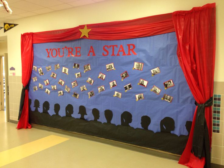 Bulletin Board You Re A Star Teacher Appreciation Week