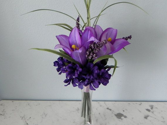 The 100 best silk flower centerpieces images on pinterest flower centerpieces silk flowers purple lilies hydrangeas weddings showers birthdays anniversaries parties any occasion table decor mightylinksfo