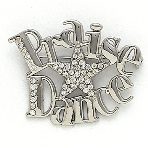 "Dance Mom, need we say more? This pins slightly larger design makes it perfect for pinning on bags or any outfit. Measures approximately 2""x2.25"""