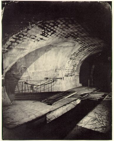 The sewers of Paris. Nadar, 1864-1865